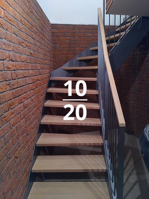 10 20 - Elegantní dřevěné schodiště, které zaujme - výběr z měsíce října